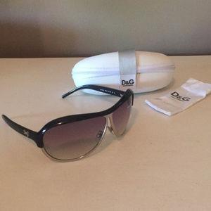 Dolce & Gabbana Retro Aviator Sunglasses